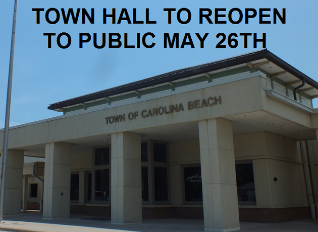 Town Hall Reopens to Public with Restrictions