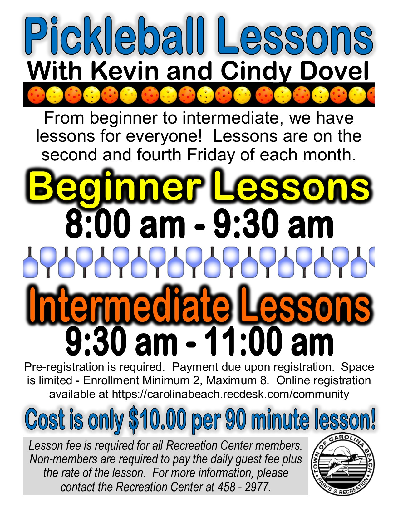 Kevin & Cindy's Pickleball Lessons