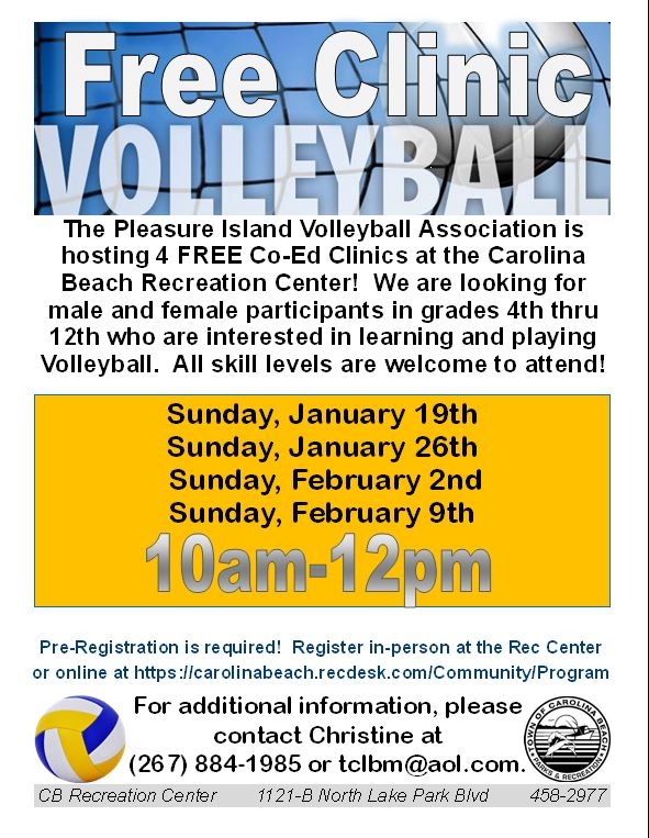 Free Volleyball Clinic 2020